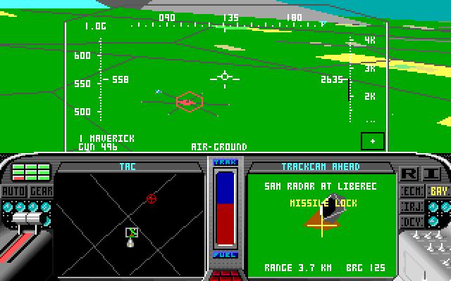 F19 - u radarové stanice
