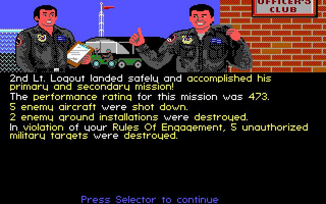 F19 - hodnocení mise