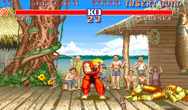 MacMAME - Street Fighter