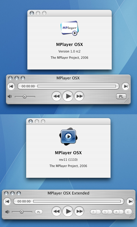 MPlayer OSX a MPlayer OSX Extended