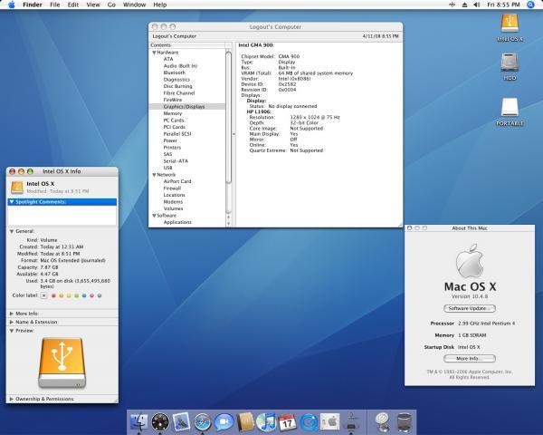 OS X on Intel
