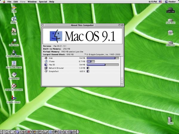 MacOS 9.1, PowerMacintosh 9600