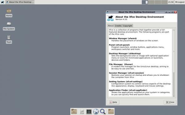 Xfce 4.10 / OpenBSD 5.5